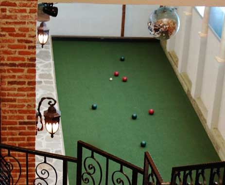 La Scala's Indoor Bocce Ball Court, Little Italy, Baltimore, MD